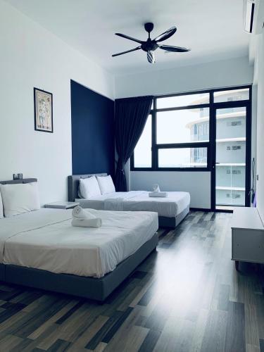 Simple Concept Seaview Suites @30 for max 8paxs, Pulau Penang