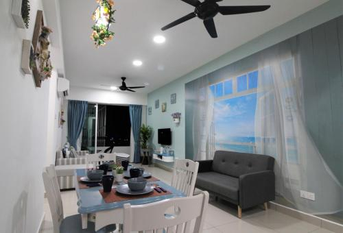 H2H - Marine Home @ Majestic Ipoh (8~10 Guests), Kinta