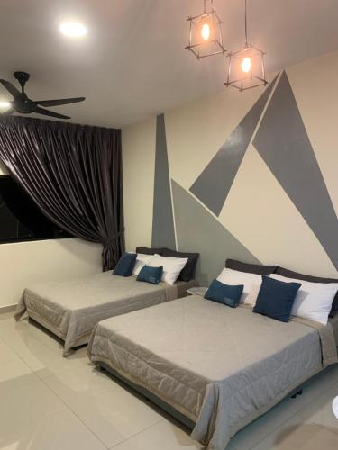Cozy Studio Sk 1 Residence for 4 pax UPM Mines Serdang, Kuala Lumpur