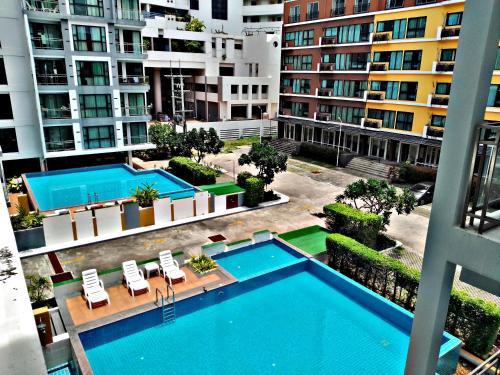 Neo Condo, 2 bedroom อพาร์ตเมนต์สองห้องนอน Pattaya, Pattaya