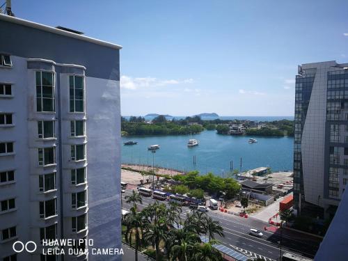OhMySuite Luxury Penthouse @ Marina Court Condo, Kota Kinabalu