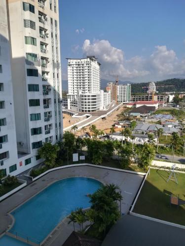 Likas Square #JC Stay # Kota Kinabalu City #Spacious, Kota Kinabalu