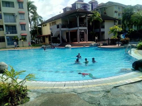 atokden homestay pd perdana condo resort, Port Dickson