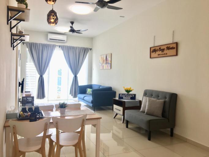 Elly's Cozy House. 3rooms. River & City View!, Kota Melaka
