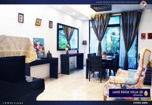 Lake Edge Villa 20 @ Puchong, Kuala Lumpur