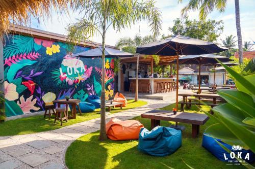 Loka Surf & Fitness Lodge, Lombok