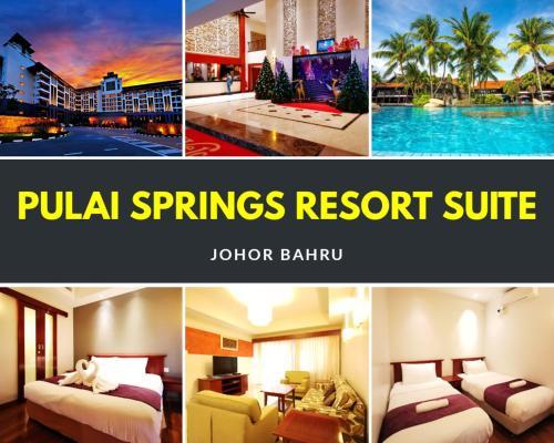 【Amazing】Pool View 2BR Suite @ Pulai Springs Resort, Johor Bahru