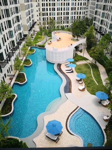天铁站附近舒适一居室泳池健身房711便利店, Muang Samut Prakan
