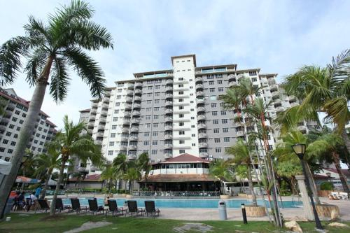 GLORY Beach Resort private 2 bedroom apartment, Port Dickson