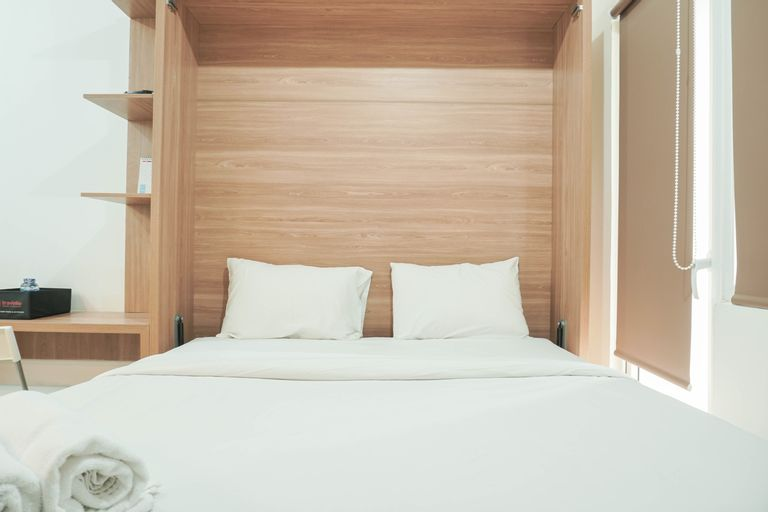 Lovely and Strategic Studio at Green Pramuka Apartment By Travelio, Central Jakarta