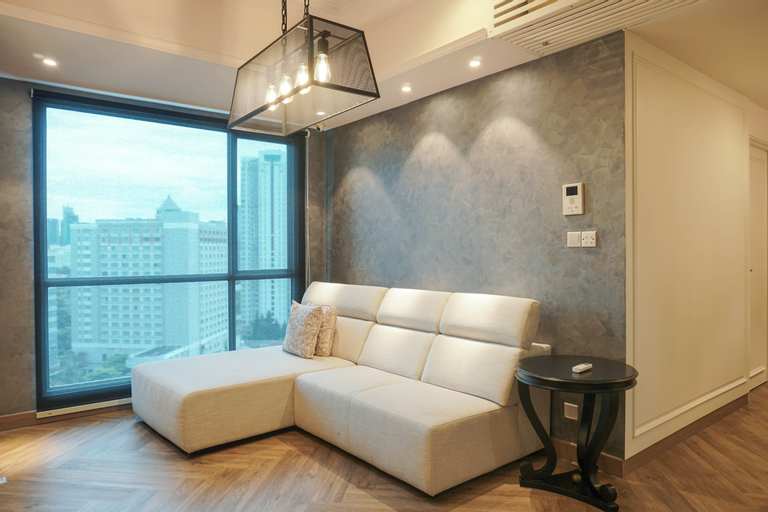 Luxurious 2BR Apartment at Casa Grande Residence By Travelio, South Jakarta