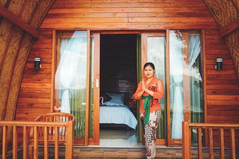Bunbulan Cottage lake view, Bangli