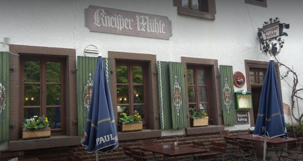 Waldgaststätte Kneispermühle, Südwestpfalz