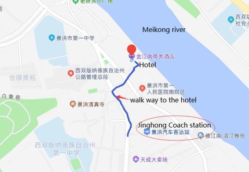 Xishuangbanna Aerial Garden Jinjiangnan Mekong River South Business Hotel, Xishuangbanna Dai
