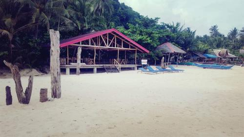 White Beach Front and Cottages Hinugtan Resort in Buruanga, Buruanga