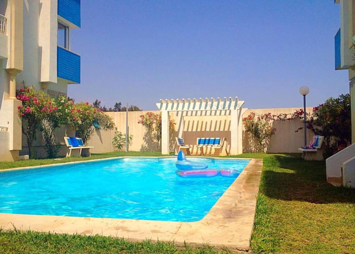 Apartment With 2 Bedrooms in Hammamet, With Wonderful sea View, Shared Pool, Balcony - 100 m From the Beach, Hammamet