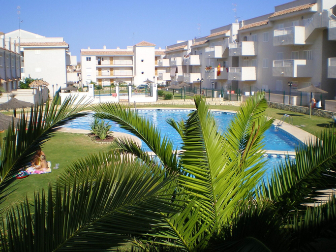 Apartment With 2 Bedrooms in Águilas, With Wonderful Mountain View, Shared Pool and Enclosed Garden, Murcia