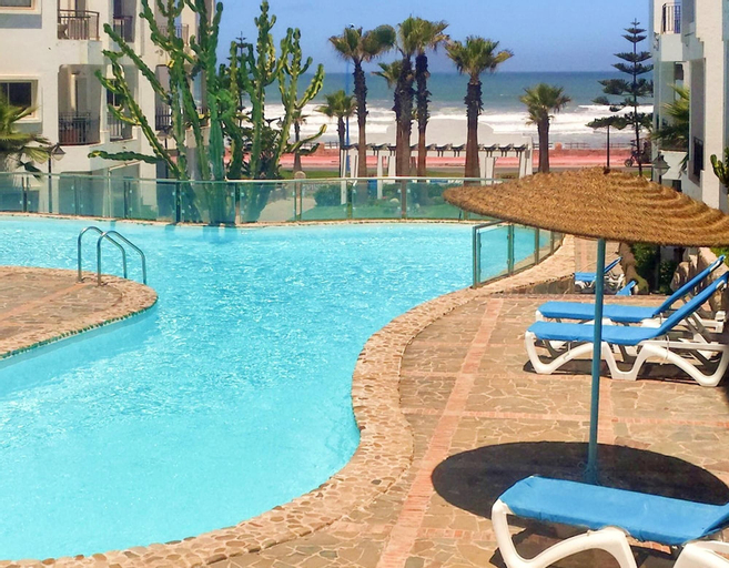 Apartment With one Bedroom in Tamaris, With Wonderful sea View, Shared Pool, Enclosed Garden - 250 m From the Beach, Casablanca