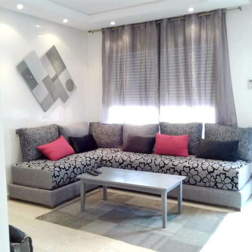 Apartment With one Bedroom in Casablanca, With Wonderful City View and Balcony - 4 km From the Beach, Casablanca