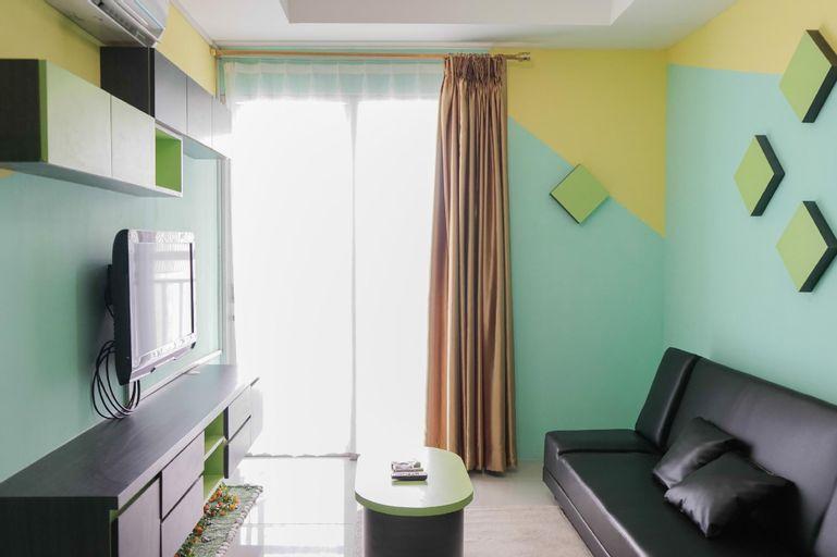 Elegant 1BR Green Central City Apt By Travelio, West Jakarta