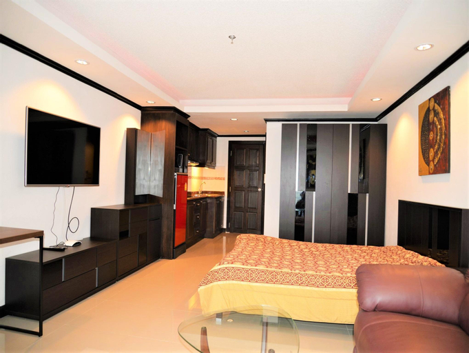 Spacious studio apartment Angket condominium, Pattaya