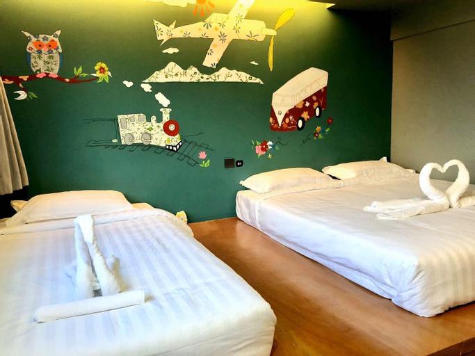 SKX&Serviced Apartment Standard Triple Room, Huai Kwang