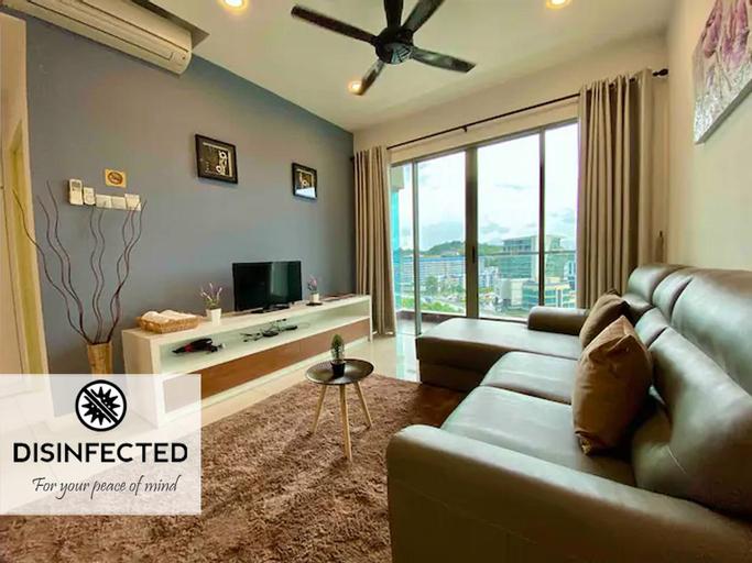 Cosy Loft@Imago Mall, Modern 2 Bedroom 2 Bath 5pax, Kota Kinabalu