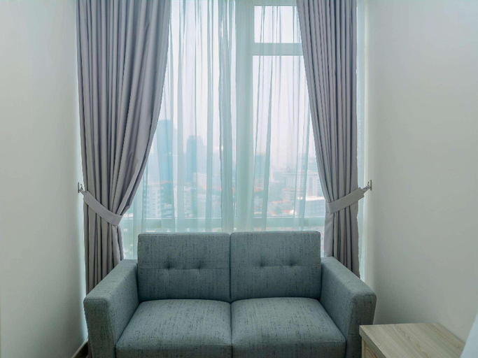 Cozy and Comfy Studio Menteng Park Apt By Travelio, Central Jakarta