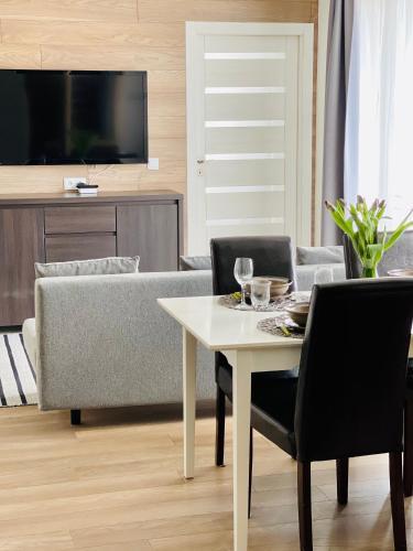 Apartament Zdrojowy z Sauna - 5D Apartamenty, Lubań
