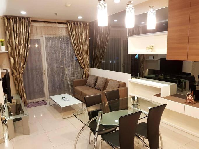 Modern 2 BR Apartment in CBD Jakarta with Netflix, Central Jakarta