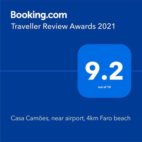Casa Camoes, near airport, 4km Faro beach, Faro