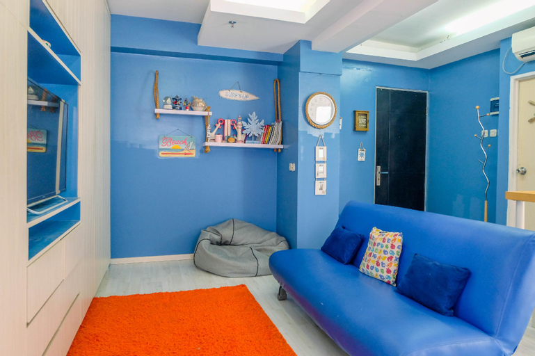 Studio at Pancoran Riverside Apartment By Travelio, South Jakarta
