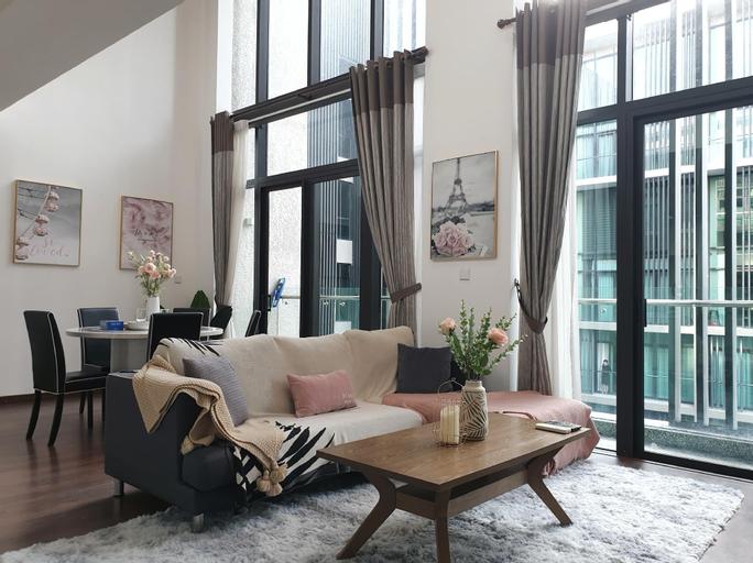 Modern Duplex 1bedroom@KK City, Beside Imago Mall, Kota Kinabalu