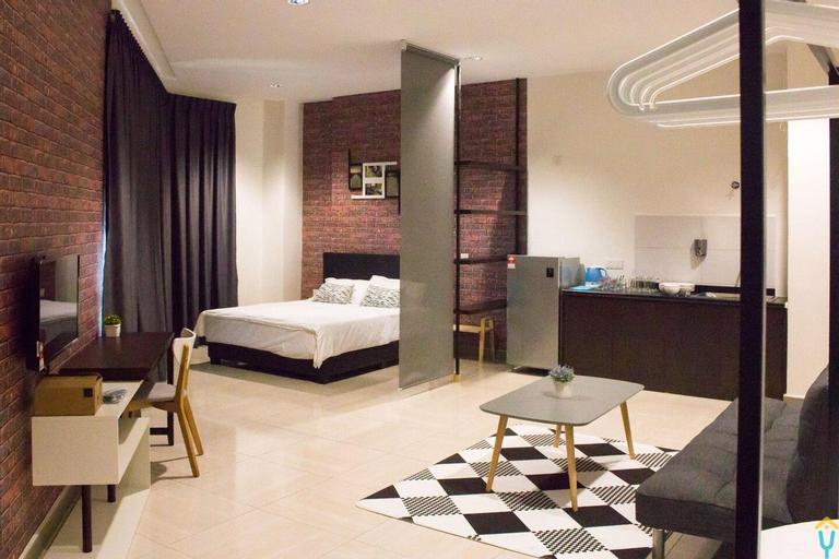 Loft Style Cozy 2 bedroom, Ipoh Town, 7-8 pax, Kinta