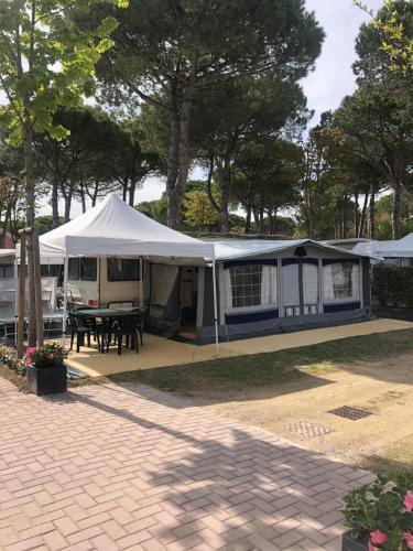 Caravan Cavallino - Valentini in Campeggio Union Lido, Venezia
