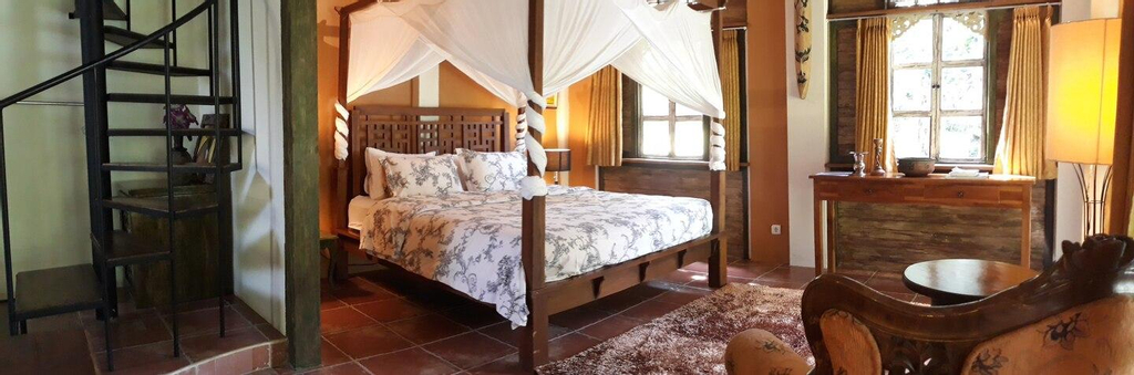 Mi Casa Guest House - Family Room with River View, Banyuwangi