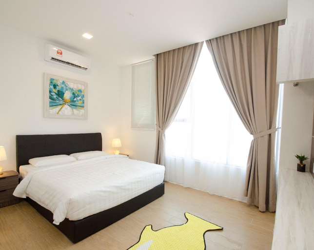 Cozy New Suites 2BR near airport beside Mall, Penampang
