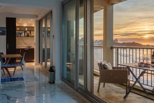 CALYPSO KEYWEEK Apartment with amazing sea view in Biarritz, Pyrénées-Atlantiques
