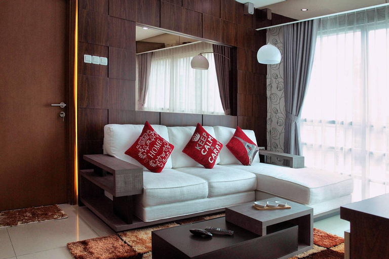 Spacious 3 BR Modern Apartment in CBD with Netflix, Central Jakarta