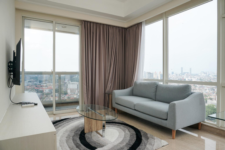 Cozy 2BR at Menteng Park Apartment By Travelio, Central Jakarta