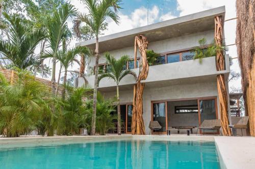 VILLA BANG BAO - caribbean style villa with chef and spa 3BR 10PPL, Cozumel