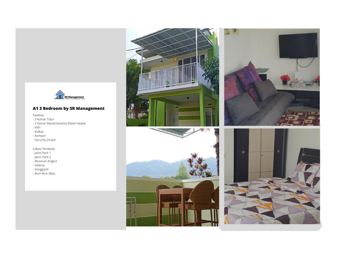 A1 3 BedRoom by SR Management, Malang