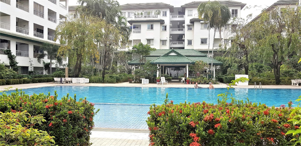 Baan Suan Lalana 42 sq m studio apartment, Pattaya