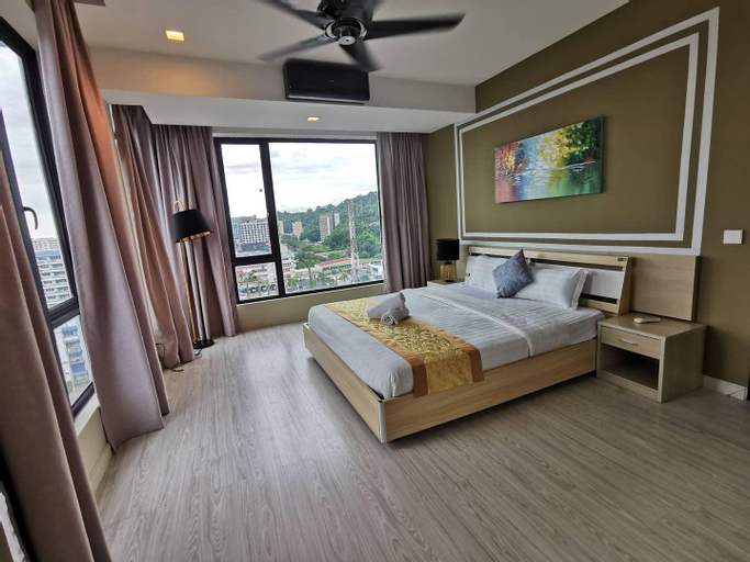 SK11 Luxury Large 3bed with Sky pool at Citycenter, Kota Kinabalu