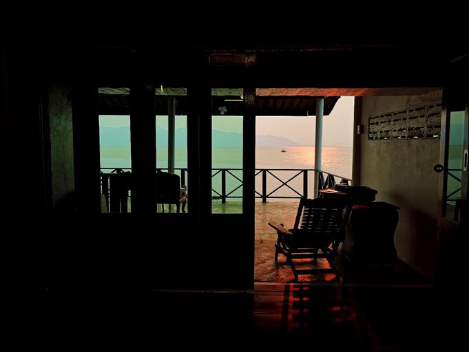 Ocean front 2Br 107sqm house - Panorama Sea View, Laem Ngop