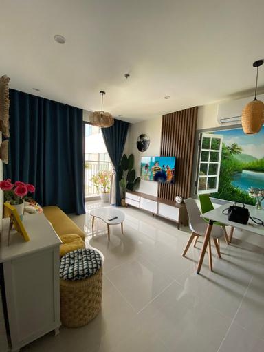 N52-Lucky Homestay @Vinhomes Ocean Park @2BR + 1WC, Gia Lâm