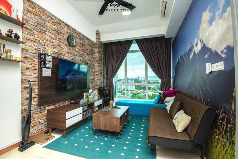 M&V Sabah Suite @ Sutera Avenue 沙巴州神山主题3-7人舒适套间, Kota Kinabalu