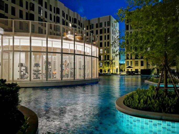 STU for3@BTS Bearing| Resort Condo with Large Pool, Muang Samut Prakan