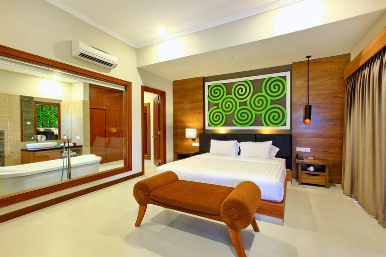 TwoBR Deluxe Villa with Private Pool-Breakfast#MBB, Badung
