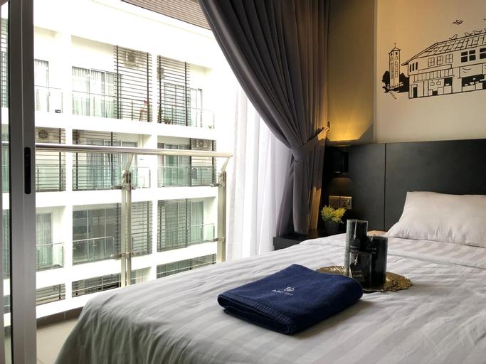 Pinstay Bayan Suites (2 Super Single Bed)@ Aeropod, Kota Kinabalu